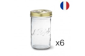 Lot de 6 terrines Le Parfait 750ml