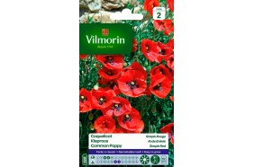 Coquelicot simple rouge - Semences Vilmorin 1gr