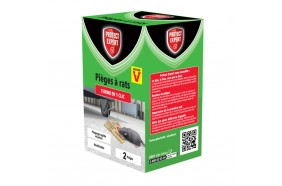 2 TAPETTES EN PLASTIQUE ANTI-RAT - PROTECT EXPERT