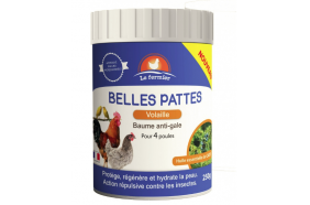 Baume anti-gale volaille - Belles Pattes 250g