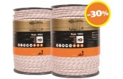 Paquet DUO Cordon Turbo blanc 2x 500m