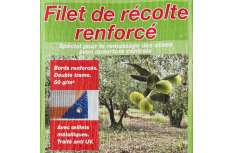 Filet de récolte  fendu 6x6m