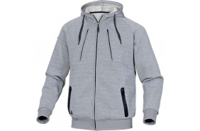 VESTE Chaude SWEAT Capuche MOLLETON