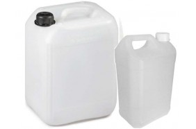 Bidon alimentaire transparent 5L 10L